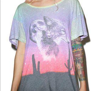 Wildfox Lone Wolf T-Shirt